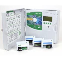 Programador ESP-LXME 12 Est. Rain Bird + Módulo Flow Smart