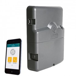 Programador Solem AC eléctrico 4 estaciones controlado por Wifi