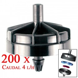 Gotero Autocompensante Seta 4 l/h. 200 unidades