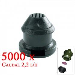 Gotero Autocompensante Goce 2,2 l/h. 5000 unidades