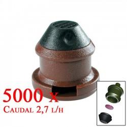 Gotero Autocompensante Goce 2,7 l/h. 5000 unidades