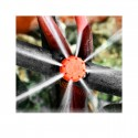 Gotero regulable rojo 0-49 l/h Variflow. 10 unidades