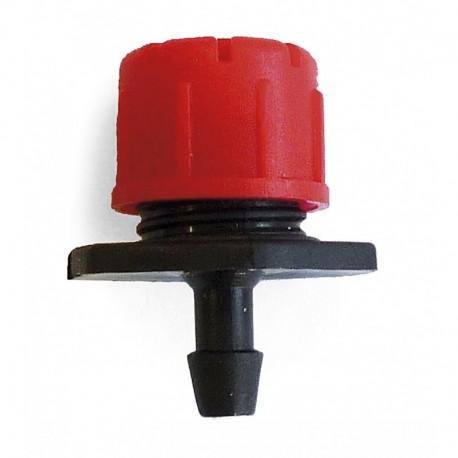 Gotero regulable variflow rojo 0-49 l/h Variflow.