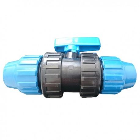Válvula PVC fitting. 25mm