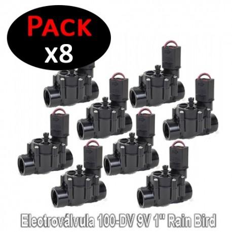 """Electroválvula 100-DV 9V 1"""" Rain Bird (Pack de 8 Unidades)"""