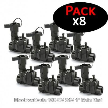 """Electroválvula 100-DV 24V 1"""" Rain Bird (Pack de 8 Unidades)"""