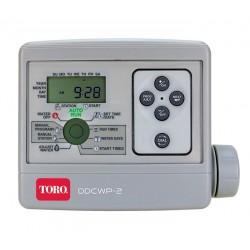 Programador riego a pilas TORO DDCWP-2-9V (2 estaciones)