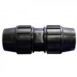 Enlace recto PE 63mm