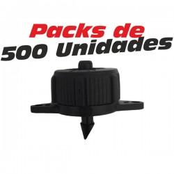 Gotero Autocompensante 8 l/h desmontable 500 Unidades