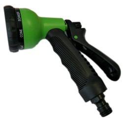 Pistola de riego para manguera de jardin 8 modos de pulverizacion