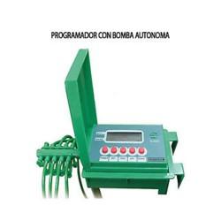 Programador a pilas con bomba para plantas automatico ultranatura