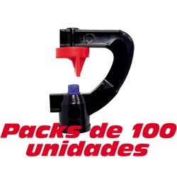 Microaspersor 180º. 100 unidades