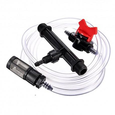 Inyector Venturi 25mm 5mm con llave dosificadora