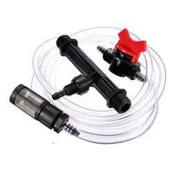 Inyector Venturi 50mm 12mm con llave dosificadora