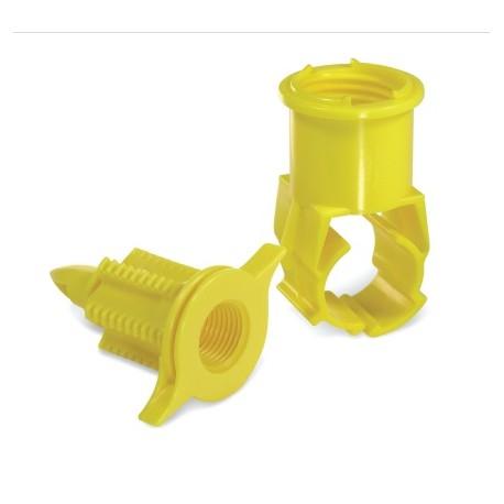 """Conector rápido para tubería de PE de 25mm 3/4"""""""