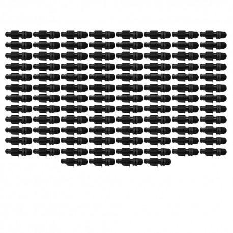 """Adaptador macho de cinta de riego 16mm a 1/2"""" (Pack x 100)"""