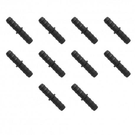 Enlace 20mm goteo negro (Pack x 10)