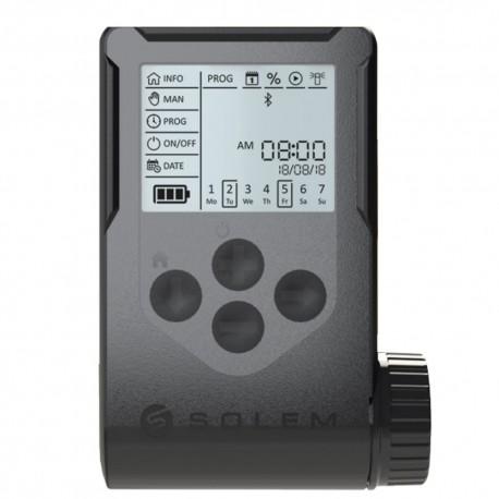 Programador riego a pilas Solem WooBee 2 estaciones con Bluetooth