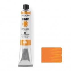 Titan oleo extrafino 18 amarillo cadmio naranja 60ml