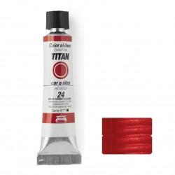 Rojo cadmio oscuro titan 24 20ml