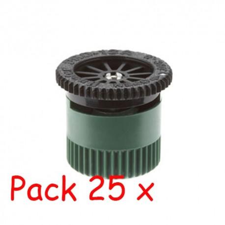 Pack 25 x Tobera difusores 12A Hunter. Alcance 3,70 mts