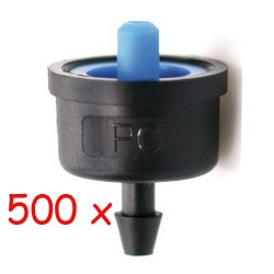 Pack 500 x Goutteur turbulent 2.1 l / h iDROP