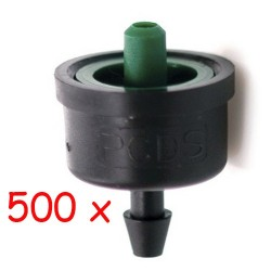 Pack 500 x Gotero Turbulento 4 l/h iDROP