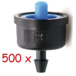 Pack 500 x Gotero Autocompensante 2,2 l/h iDROP