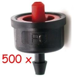 Gotero Autocompensante 7,8 l/h iDROP. 500 unidades