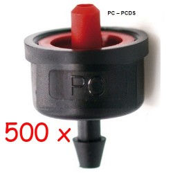 Pack 500 x Gotero Antidrenante 7,8 l/h iDROP