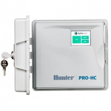 Programador Wifi HC Hydrawise 6 Zonas Exterior Hunter